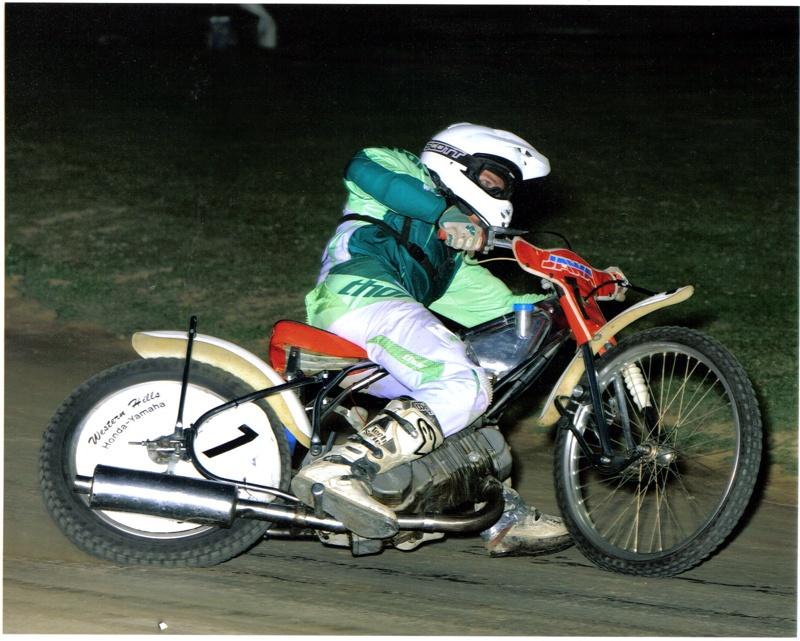 Barry benkert jr midwest usa speedway rider usa for Western hills honda yamaha cincinnati oh