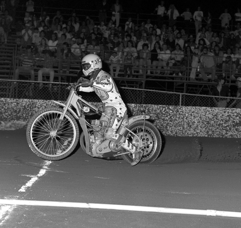 Mike Bast National Champion Speedway Rider