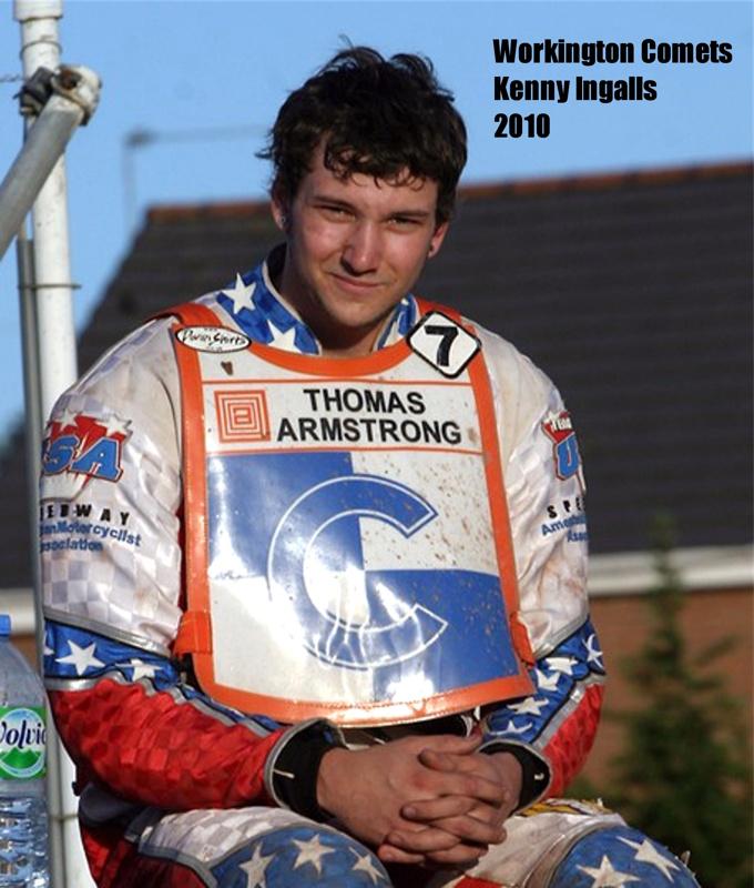 Kenny Ingalls California Speedway Rider
