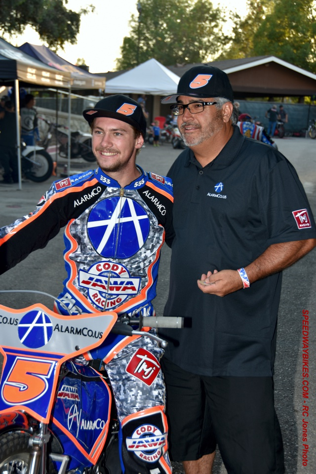 Maxwell Ruml California Speedway Rider Speedwaybikes Com
