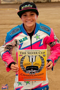 Alex Martin California Youth Speedway Rider