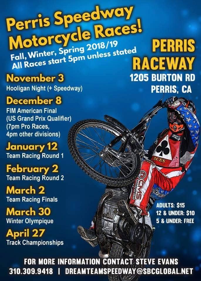 2019 California Speedway News - SpeedwayBikes com